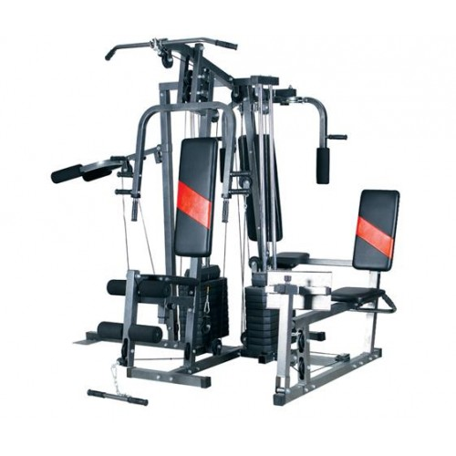 Workout equipment for home philippines fiba, multi gym 4 station wagon